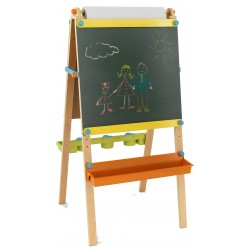 Staffeli artist easel with paper roll