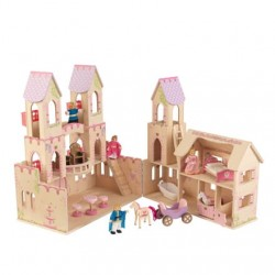 Prinsesseslot Kidkraft princess castle
