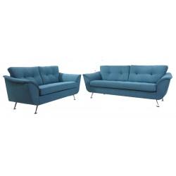 2+3 pers. kvalitets sofa Nubuck eller polyester