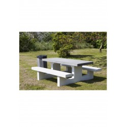 Bord-/bænkesæt i beton