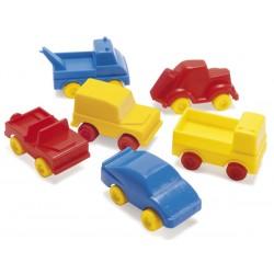 Dantoy, 48 stk små biler ( 8-9 cm)