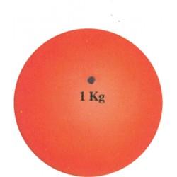 Stødkugle, 1kg, gummi