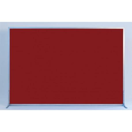 1 STK - Akustisk Skærmvæg - 120 x 180 cm inkl. fod