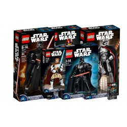 LEGO, STARWARS FIGUR PAKKE 6 stk.