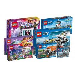 LEGO, REST PAKKE 10 kasser