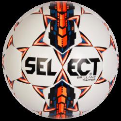 Select Fodbold Brillant Super - Hvid/Orange