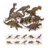 Kæmpe dinosaur pakke i hård plast - 42-56 cm