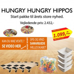 Human Hungry Hungry Hippos