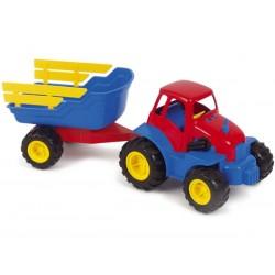 Traktor med hænger 51 cm