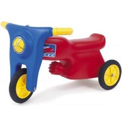 Motorcykel med gummihjul