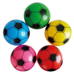 TV plast fodbolde ass. farver