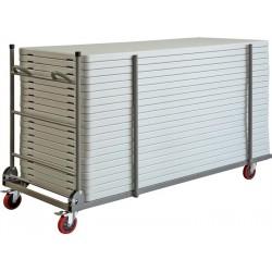 Zown Plastbord XL bordvogn - 3 års garanti