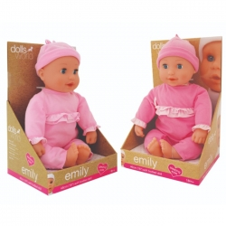 Slaske dukke med sut - 46 cm