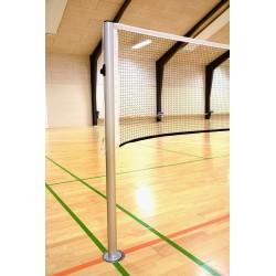 Badmintonstøtter med netspor