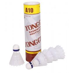 Youhe A10 badmintonbolde 6 stk. Nylon