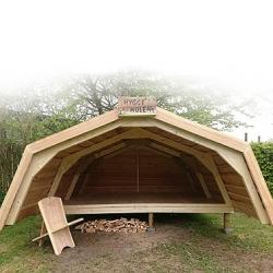 Hule shelter model kæmpe