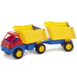 Lastbil med hænger 50 cm